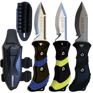 Point Tip BC Dive Knife (3 In Blade)