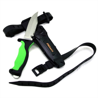 Sharp Tip Titanium Diving Knife (4 3/8 In Blade)