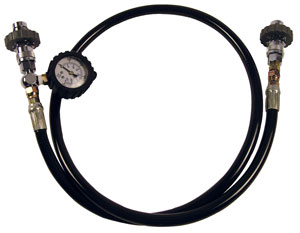 Tank Equalizer with Pressure Gauge (DIN)