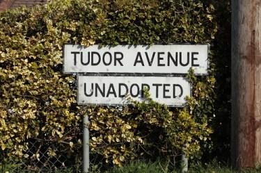 Unadopted road