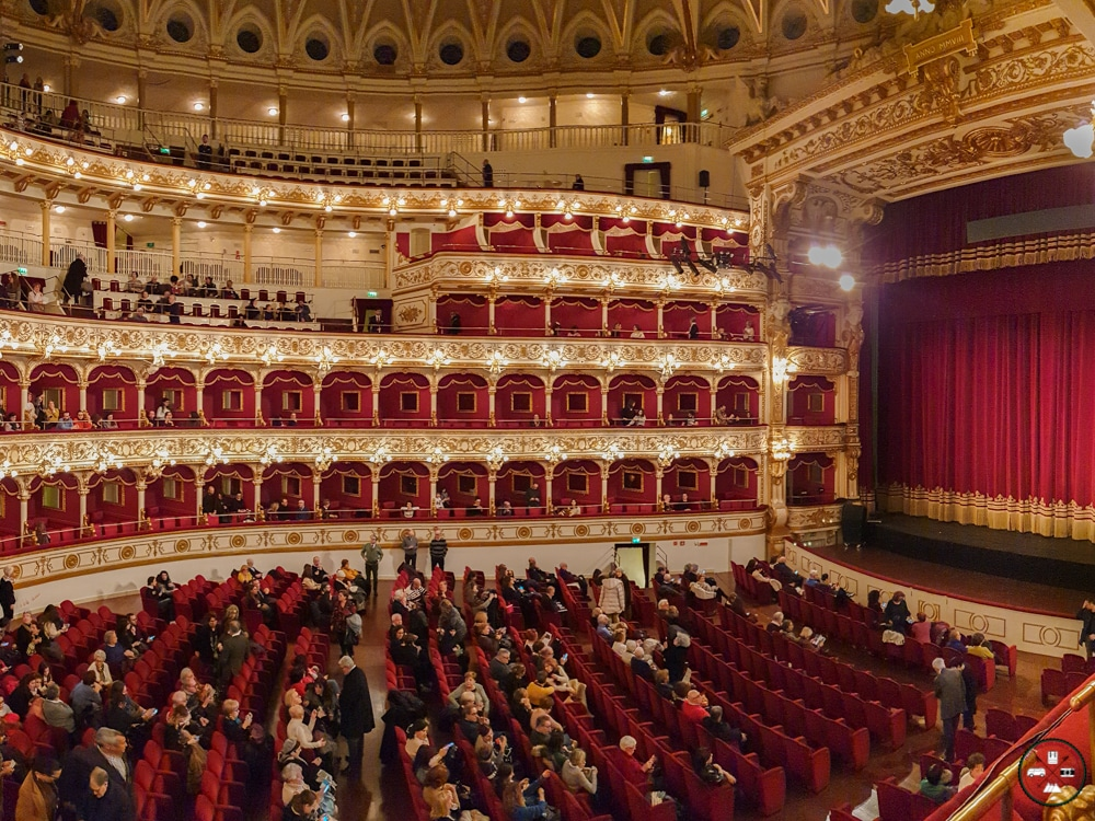 Salle d'opera du Teatro Petruzzelli