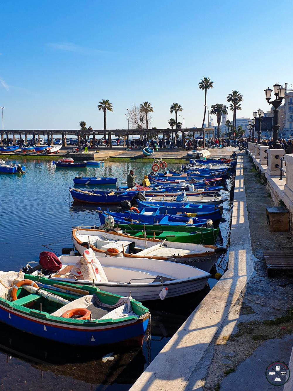 En Weekend à Bari sur le vieux port de peche
