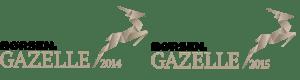 Gazelle logo 2014 og 2015