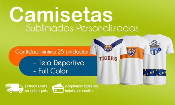 Camisetas Sublimadas Costa Rica