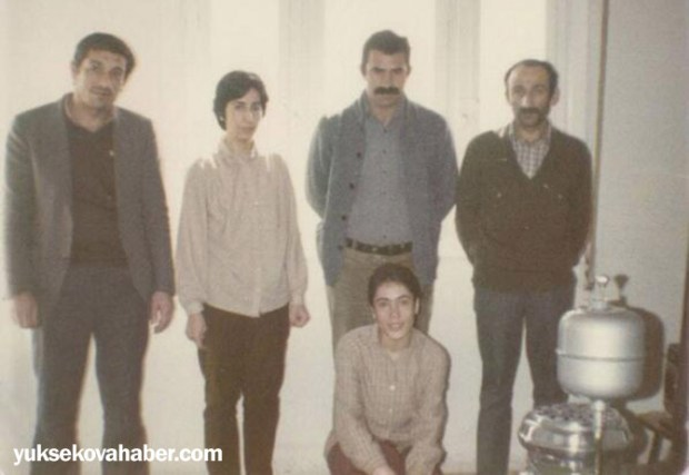 Абдулла Оджалан в центре, Джемиль Байык – крайний слева