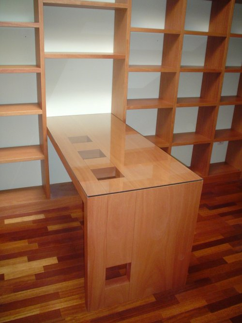 Promida escriptori prestatgeria cedre
