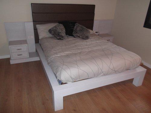 Promida llit capçal amb tauletes