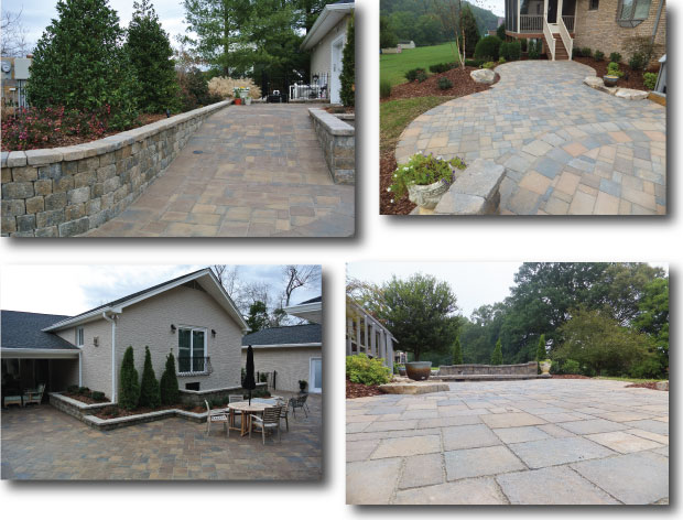 Pavers for Walkways, Patios and Driveways Kingsport, Johnson City, Bristol, and Greeneville
