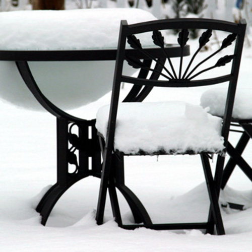 winterizing outdoor furniture