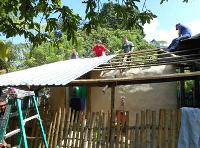 New Roof from Promise Home Mission Team