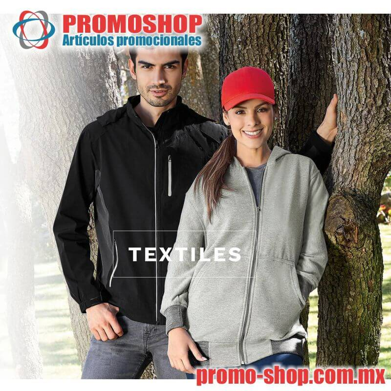 Artículos promocionales textiles - Catálogo PROMOSHOP cb45e1f3c8c