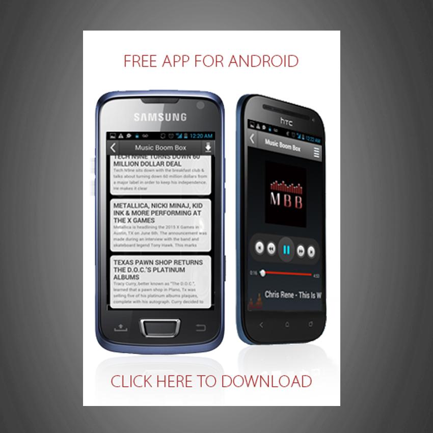 Music Boombox App