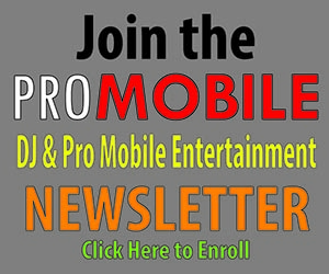 Pro Mobile Entertainers Newsletter