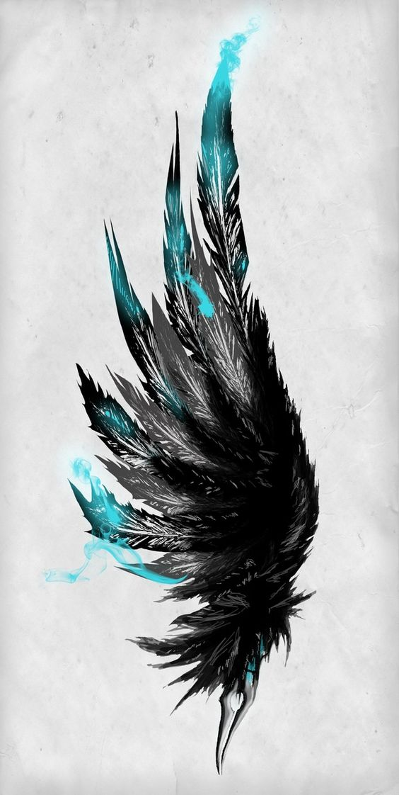 Icarus Ink Wing Tattoo
