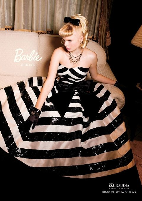 barbie bridal… love! If only I knew about this 7 months ago! :)