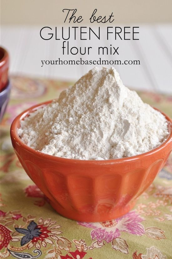 Cup for cup, make your own Gluten Free Flour Mix!