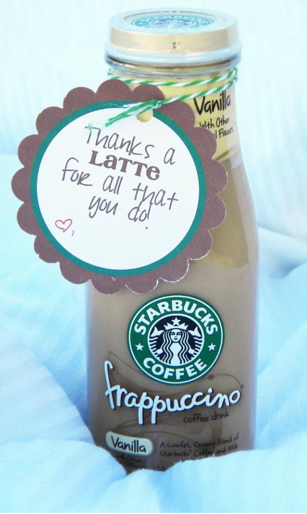 Thanks A Latte Great for Appreciation Gifts