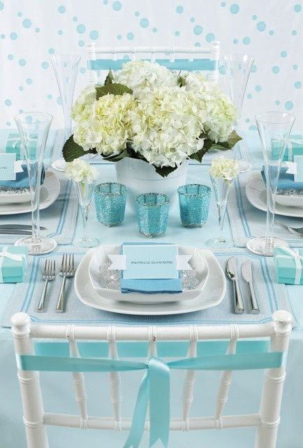 Tiffany blue wedding theme ideas