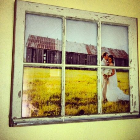 DIY – Vintage Window Pane Picture Frame