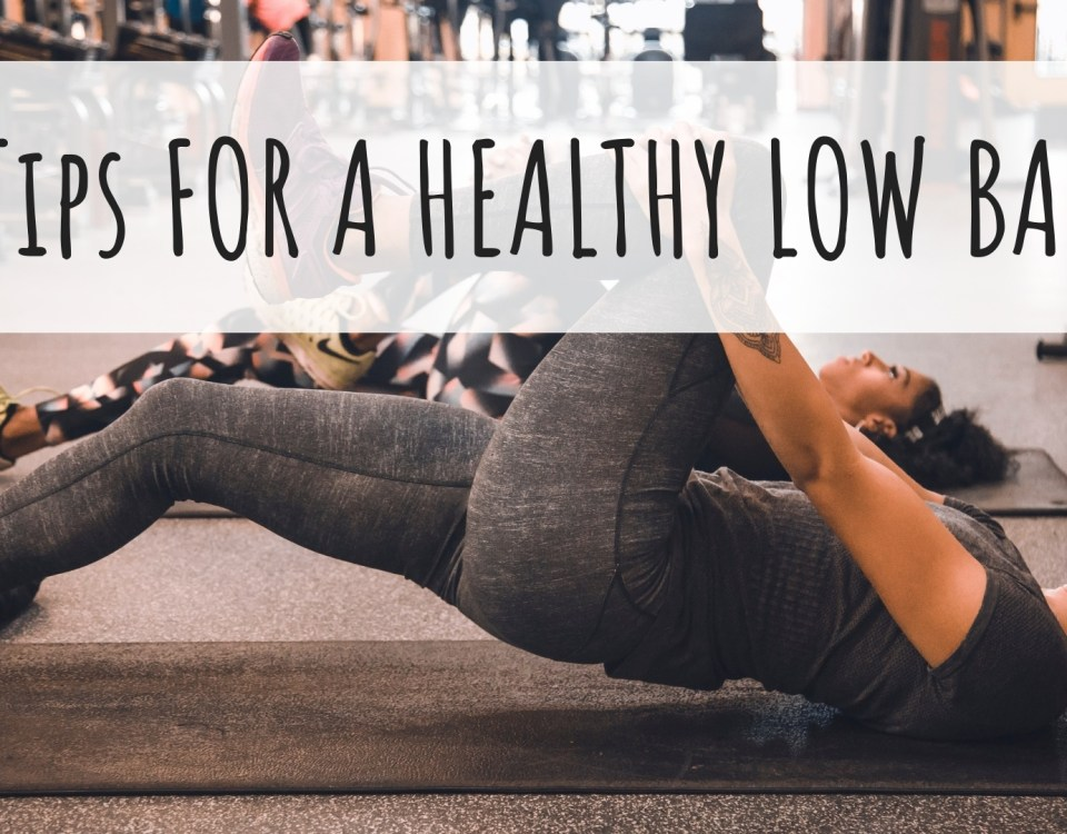 healthy low back tips