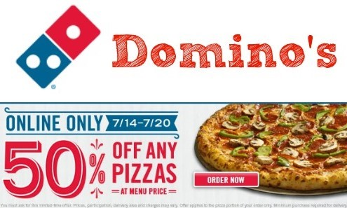 Dominos Coupons India 2021 Offers on Pizza