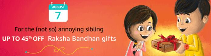 Amazon Raksha Bandhan Offers