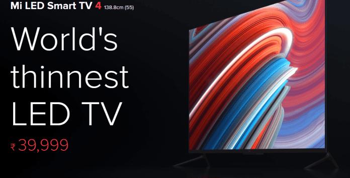 Mi Smart TV 4 Price On Flipkart & Amazon  Next Flash Sale  Specification & Features