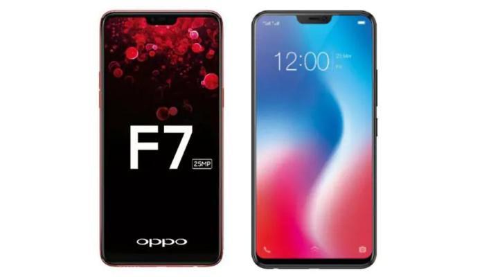 Oppo F7 Price on Flipkart & Amazon