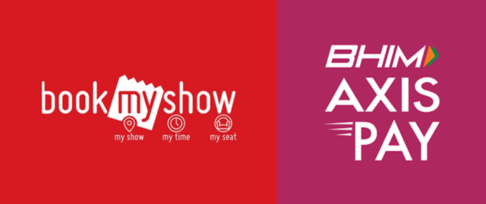 (Loot) Bookmyshow Free 150 Rs Voucher by Paying 1 Rs in BHIM Axis Pay app