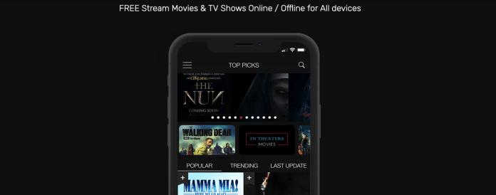 Cotomovies app Screenhots