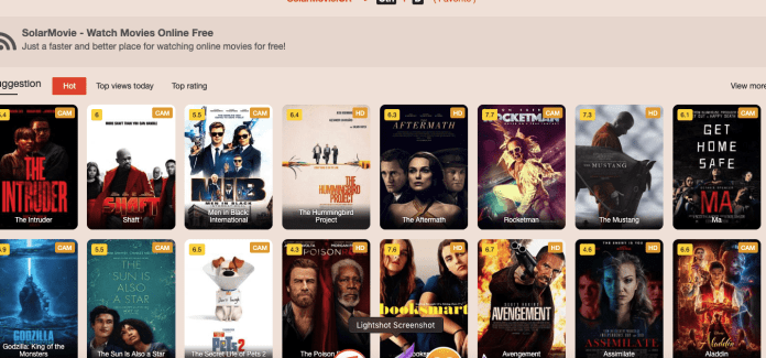 SolarMovie Review - Top Best SolarMovie Alternatives
