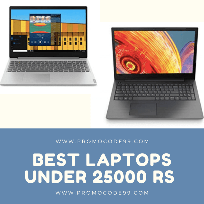 Best Laptops Under 25000 Rs in India [2020 Edition]