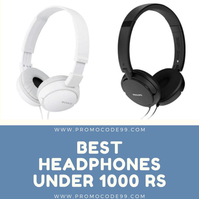 Best Over-Ear Headphones under Rs 1000 in India 2020