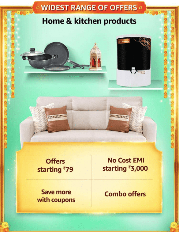 Amazon Great Indian Sale offer on Kitchen & Home Appliances