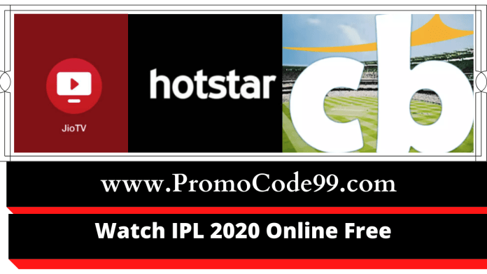 How to Watch IPL Online Free 2020 Stream on Mobile & PC/Laptop