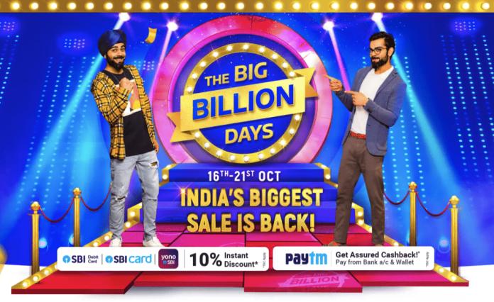 Flipkart Big Billion Days Offers Deals
