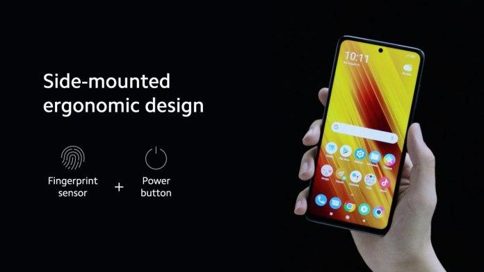 Poco X3 Design