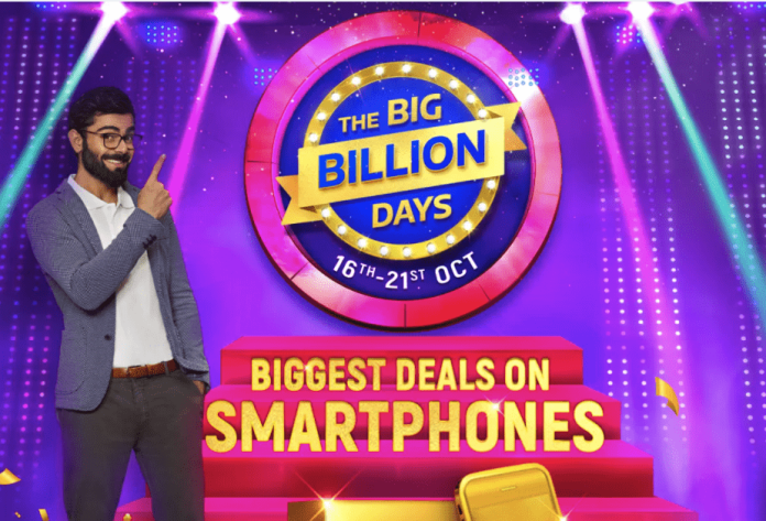 Flipkart Big Billion Days & Amazon Great Indian Festival Offers on Smartphones