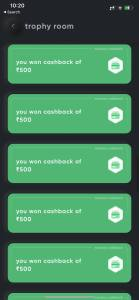 Cred app loot Proof