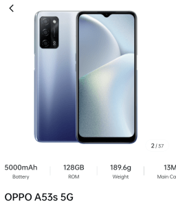 Oppo 5G Phones under Rs 20000 in India