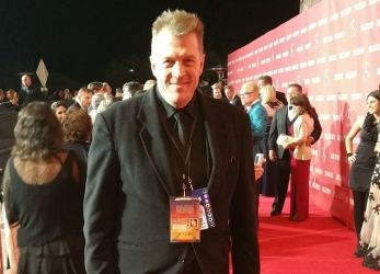 Nicholas Snow on yet another red carpet.