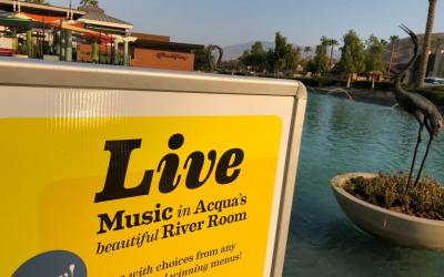 Musical Nights Now on Offer (Fridays, Sundays) at Acqua California Bistro