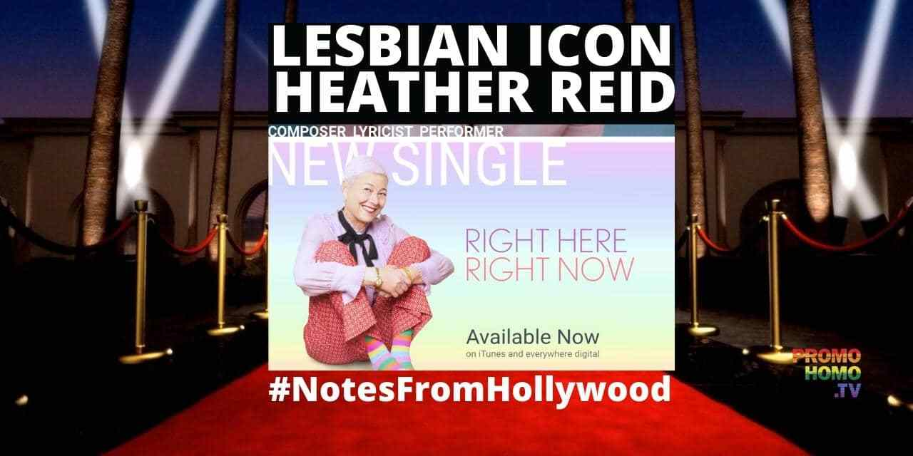 Lesbian Icon Heather Reid (of The Murmurs Fame): Her New Music Video is A Survival Story