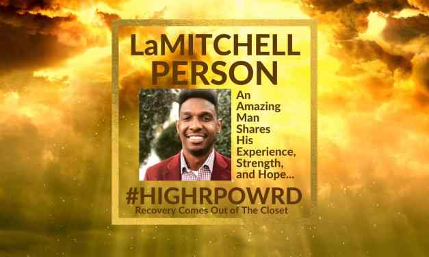 LaMITCHELL PERSON: Sharing His Experience, Strength and Hope