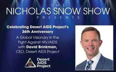 A GLOBAL VISIONARY IN THE FIGHT AGAINST HIV/AIDS: David Brinkman, CEO, MBA