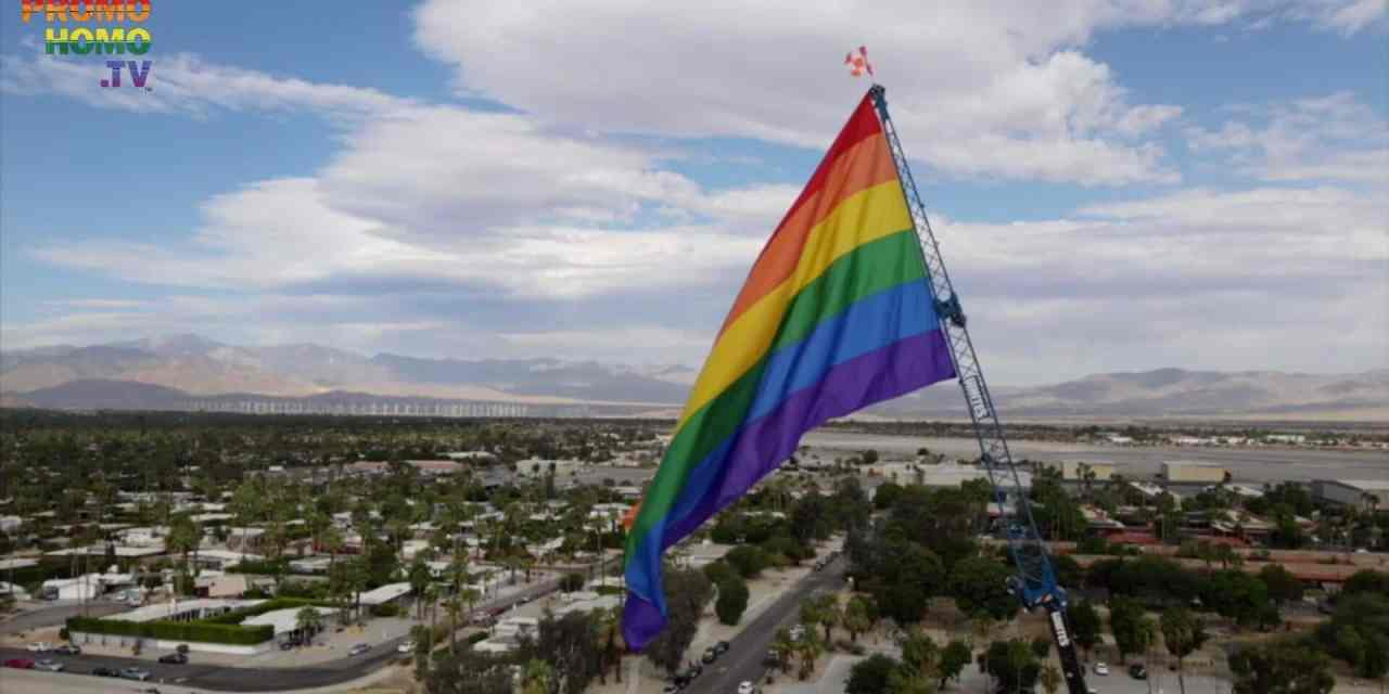 Official Flag Raising Ceremony | Palm Springs Pride 2020 | PromoHomo.TV