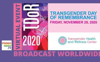 Transgender Day of Remembrance | Broadcasting Live from Palm Springs, CA