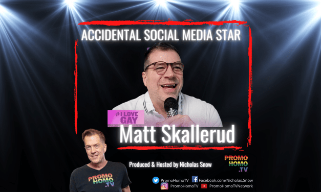 "Accidental Social Media Star: Matt Skallerud of ""I Love Gay Today"""