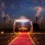 Bab Al Shams Desert Resort Spa Romantic Valentine S Dinner At Sunset Point Promo Promolover