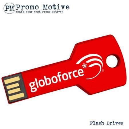 006A Red Key Flash Drive